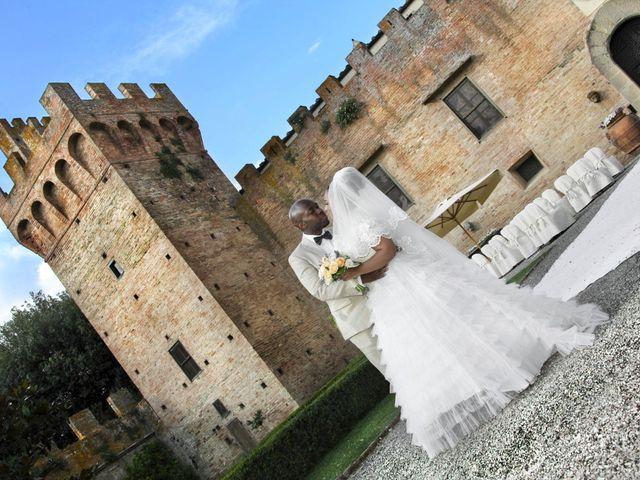 Il matrimonio di Jide e Kathleen a Castelfiorentino, Firenze 42