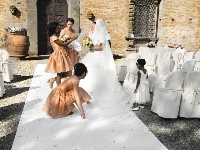 Il matrimonio di Jide e Kathleen a Castelfiorentino, Firenze 43
