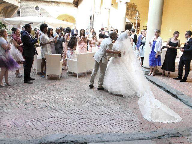 Il matrimonio di Jide e Kathleen a Castelfiorentino, Firenze 46