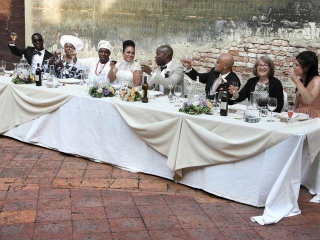Il matrimonio di Jide e Kathleen a Castelfiorentino, Firenze 60