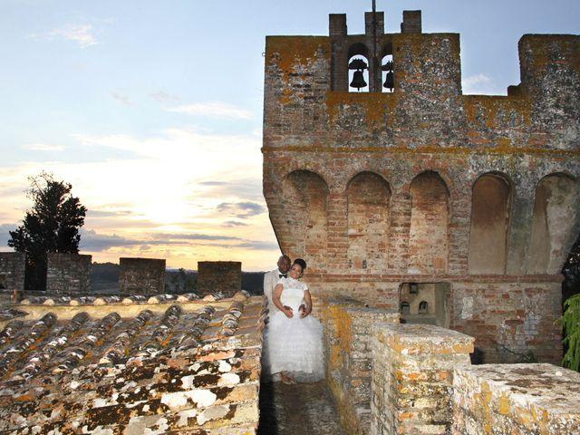 Il matrimonio di Jide e Kathleen a Castelfiorentino, Firenze 64