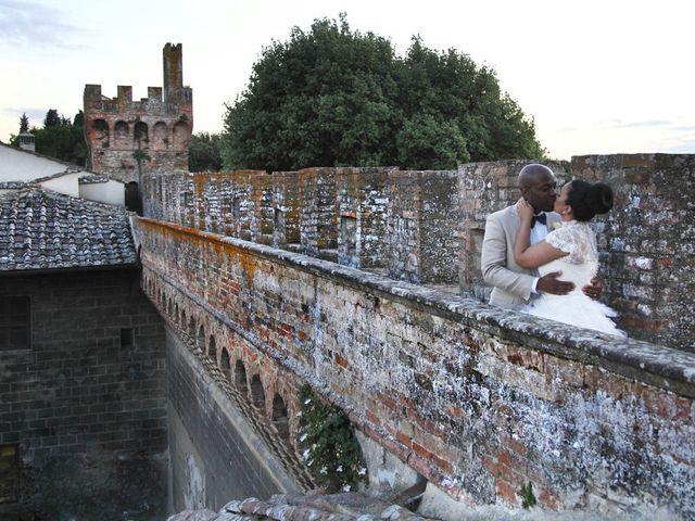 Il matrimonio di Jide e Kathleen a Castelfiorentino, Firenze 2