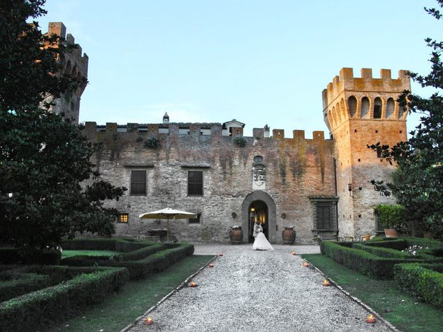 Il matrimonio di Jide e Kathleen a Castelfiorentino, Firenze 65