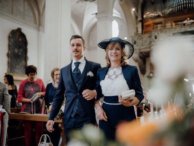 Il matrimonio di Niccolò e Maria a Asolo, Treviso 25