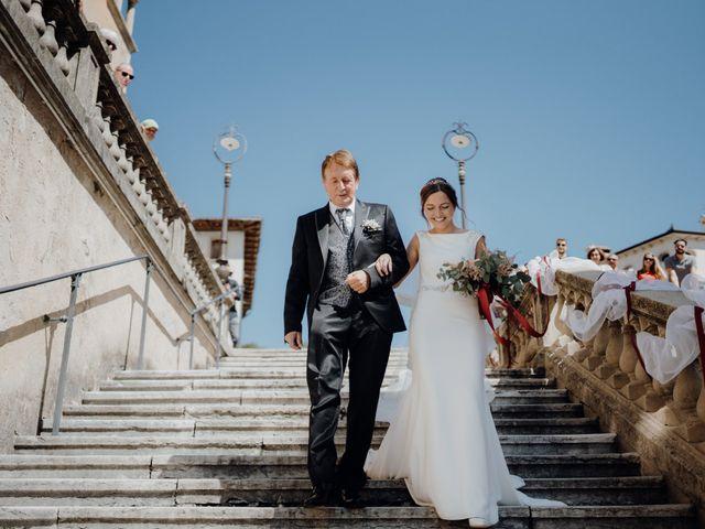 Il matrimonio di Niccolò e Maria a Asolo, Treviso 28