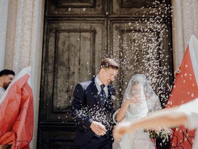 Il matrimonio di Niccolò e Maria a Asolo, Treviso 42