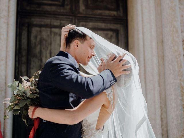 Il matrimonio di Niccolò e Maria a Asolo, Treviso 43