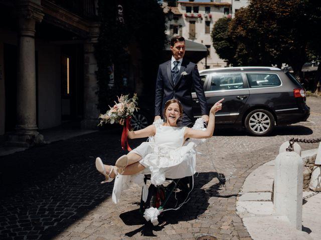Il matrimonio di Niccolò e Maria a Asolo, Treviso 46