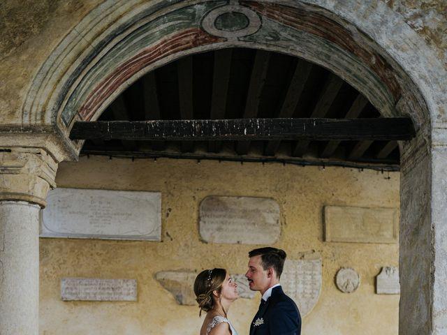 Il matrimonio di Niccolò e Maria a Asolo, Treviso 47