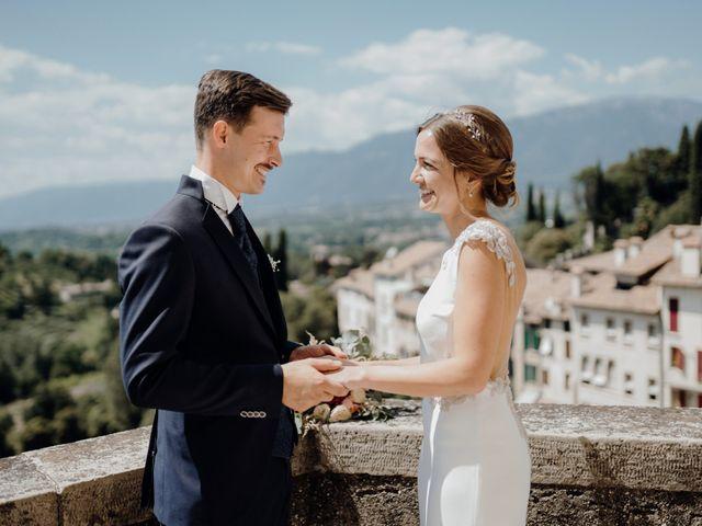 Il matrimonio di Niccolò e Maria a Asolo, Treviso 49