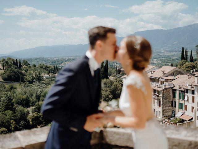 Il matrimonio di Niccolò e Maria a Asolo, Treviso 50