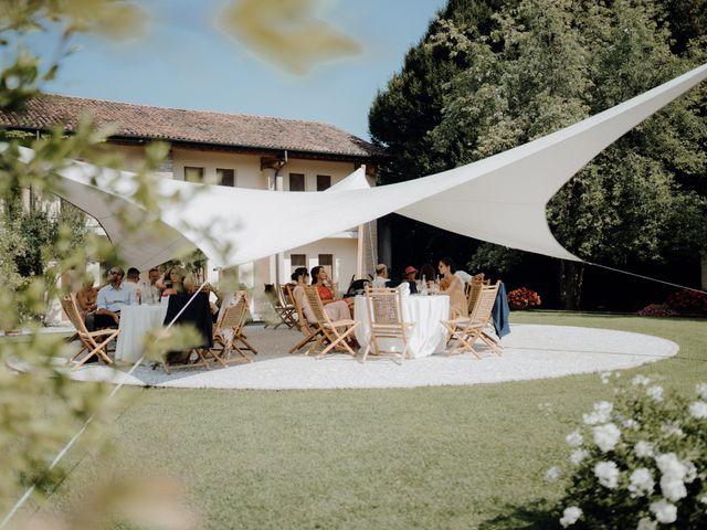 Il matrimonio di Niccolò e Maria a Asolo, Treviso 73