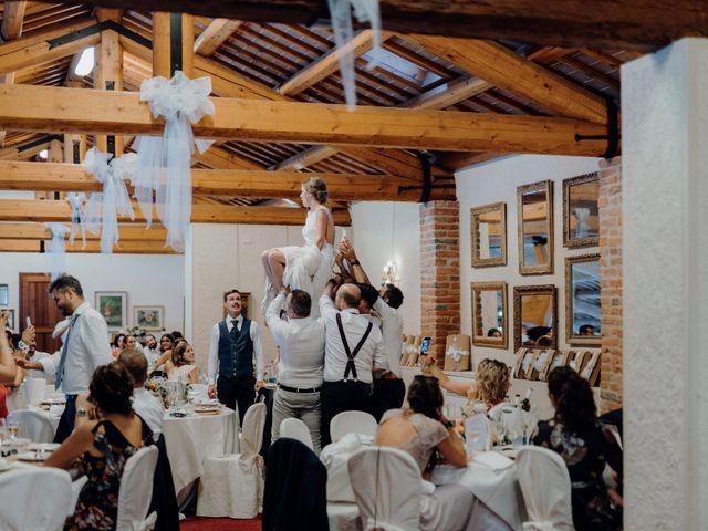 Il matrimonio di Niccolò e Maria a Asolo, Treviso 77