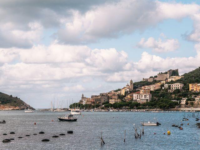 Il matrimonio di Andrea e Liliana a Portovenere, La Spezia 1