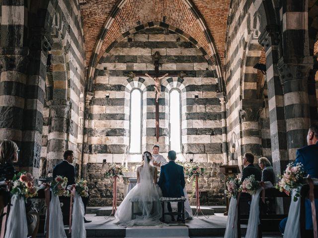 Il matrimonio di Andrea e Liliana a Portovenere, La Spezia 32