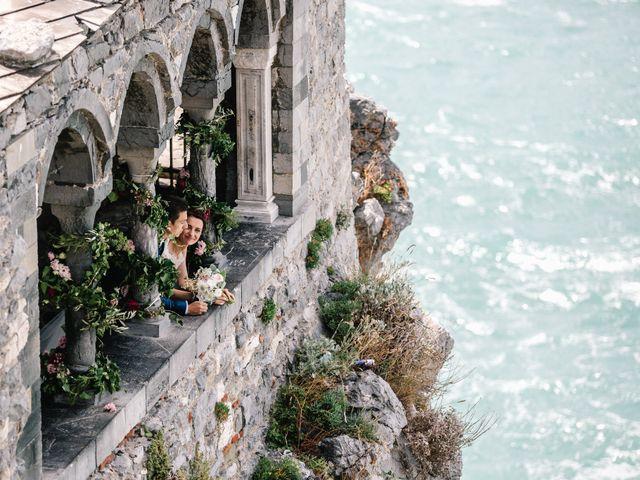 Il matrimonio di Andrea e Liliana a Portovenere, La Spezia 42