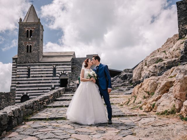 Il matrimonio di Andrea e Liliana a Portovenere, La Spezia 43