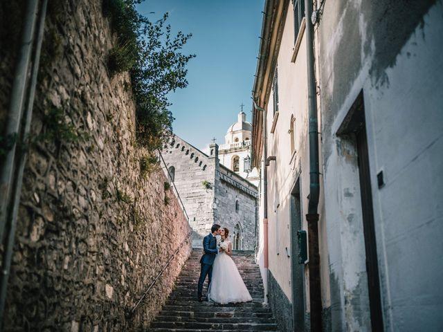 Il matrimonio di Andrea e Liliana a Portovenere, La Spezia 51