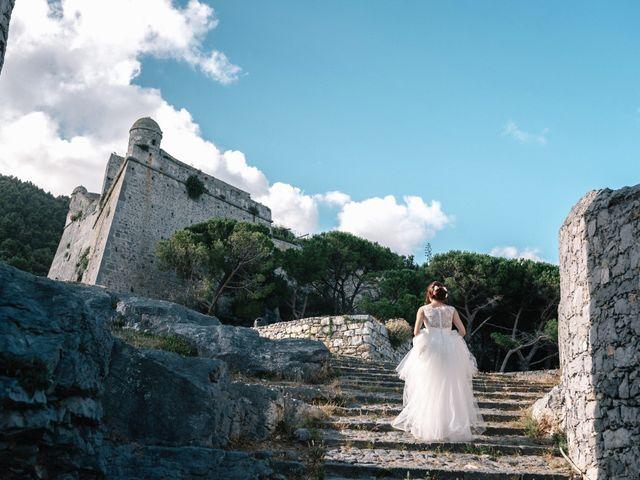 Il matrimonio di Andrea e Liliana a Portovenere, La Spezia 52