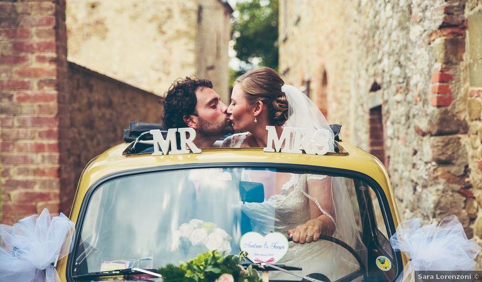 Il matrimonio di Andrea e Tanya a Arezzo, Arezzo