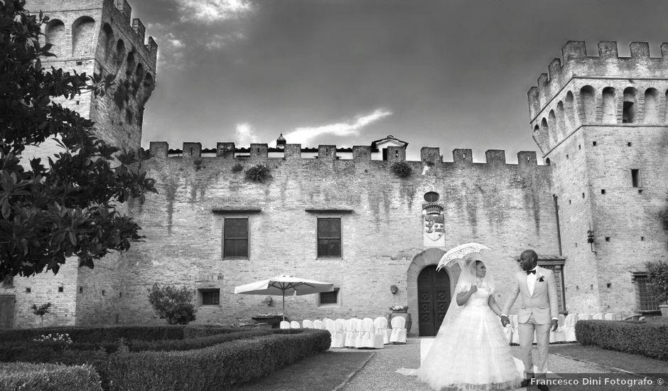 Il matrimonio di Jide e Kathleen a Castelfiorentino, Firenze