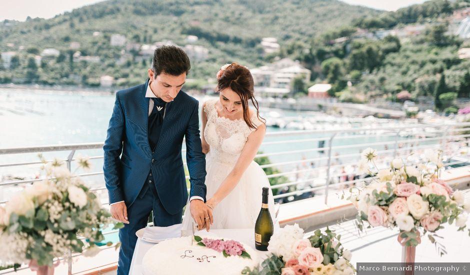 Il matrimonio di Andrea e Liliana a Portovenere, La Spezia