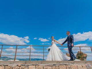Le nozze di Letizia e Angelo