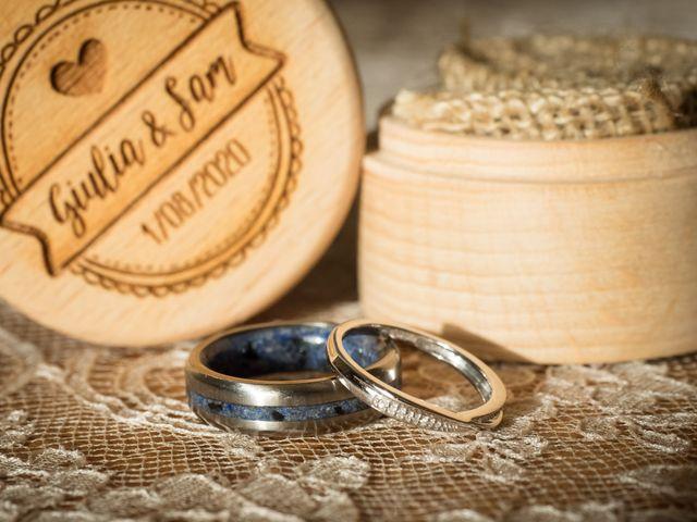 Il matrimonio di Sam e Giulia a Riva di Solto, Bergamo 4
