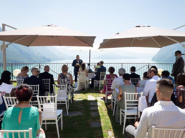 Il matrimonio di Sam e Giulia a Riva di Solto, Bergamo 12