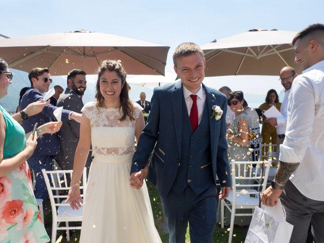 Il matrimonio di Sam e Giulia a Riva di Solto, Bergamo 1