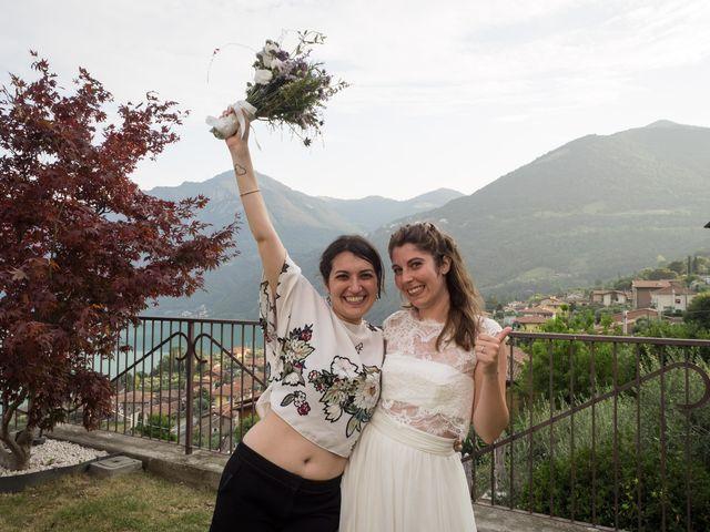 Il matrimonio di Sam e Giulia a Riva di Solto, Bergamo 24