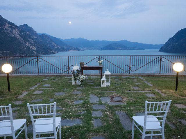 Il matrimonio di Sam e Giulia a Riva di Solto, Bergamo 27