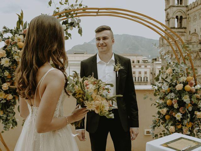 Il matrimonio di Yulia e Olexander a Palermo, Palermo 40