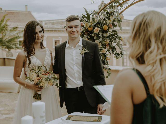 Il matrimonio di Yulia e Olexander a Palermo, Palermo 42