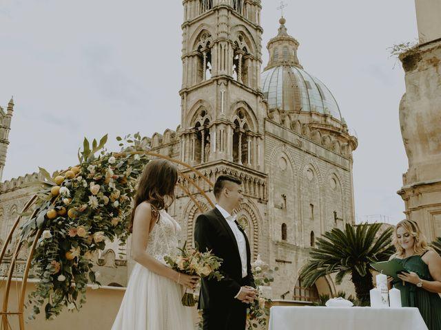 Il matrimonio di Yulia e Olexander a Palermo, Palermo 50
