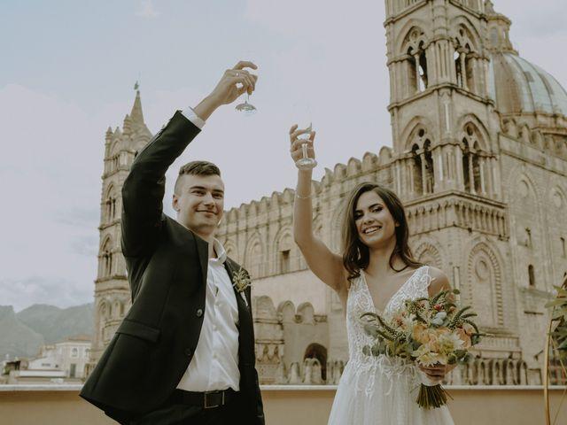Il matrimonio di Yulia e Olexander a Palermo, Palermo 55