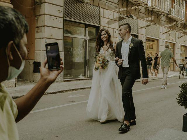 Il matrimonio di Yulia e Olexander a Palermo, Palermo 71