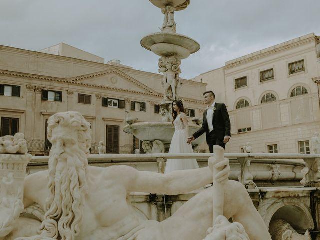 Il matrimonio di Yulia e Olexander a Palermo, Palermo 78