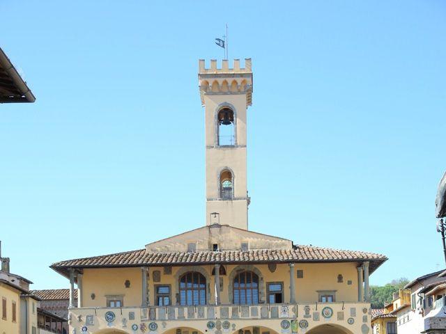 Il matrimonio di Elena e Lucio a San Giovanni Valdarno, Arezzo 13