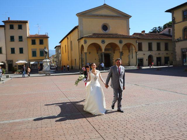 Il matrimonio di Elena e Lucio a San Giovanni Valdarno, Arezzo 14