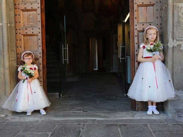Il matrimonio di Elena e Lucio a San Giovanni Valdarno, Arezzo 16