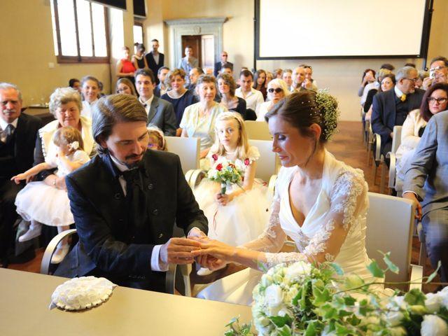 Il matrimonio di Elena e Lucio a San Giovanni Valdarno, Arezzo 21