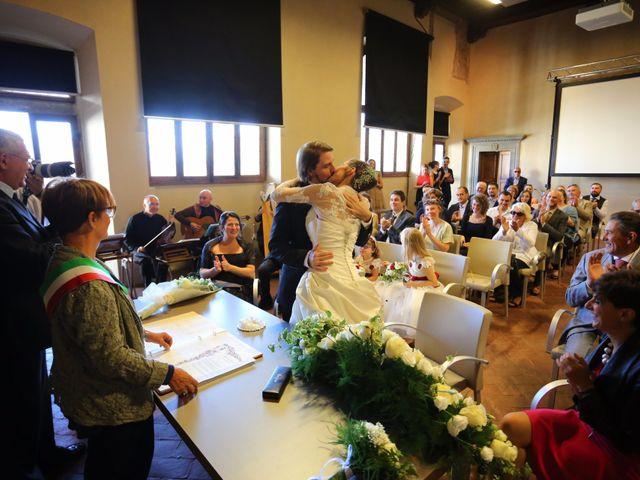 Il matrimonio di Elena e Lucio a San Giovanni Valdarno, Arezzo 23