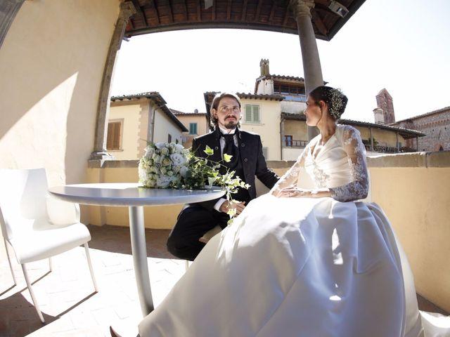 Il matrimonio di Elena e Lucio a San Giovanni Valdarno, Arezzo 25