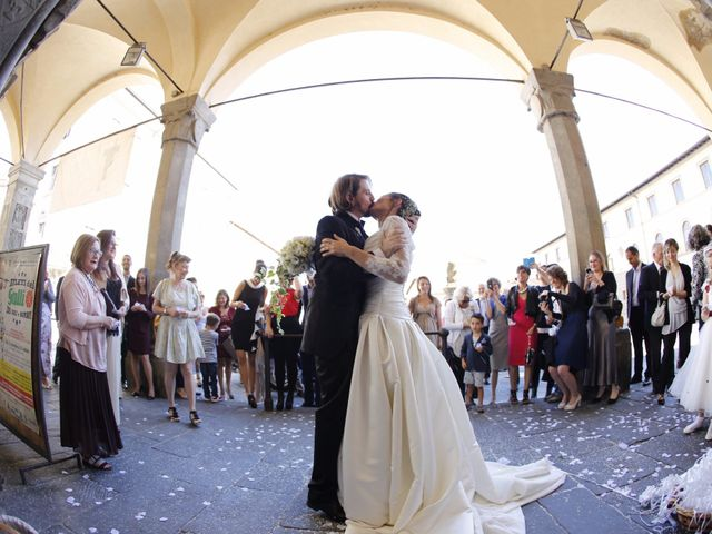 Il matrimonio di Elena e Lucio a San Giovanni Valdarno, Arezzo 28