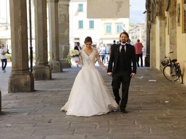 Il matrimonio di Elena e Lucio a San Giovanni Valdarno, Arezzo 34
