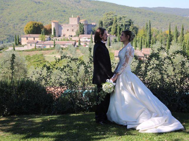 Il matrimonio di Elena e Lucio a San Giovanni Valdarno, Arezzo 40