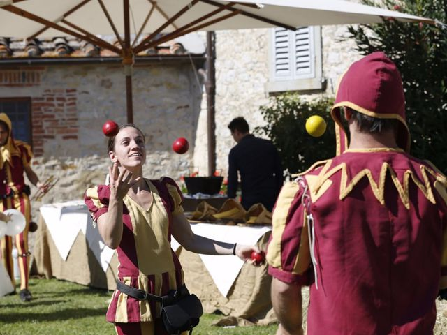 Il matrimonio di Elena e Lucio a San Giovanni Valdarno, Arezzo 46