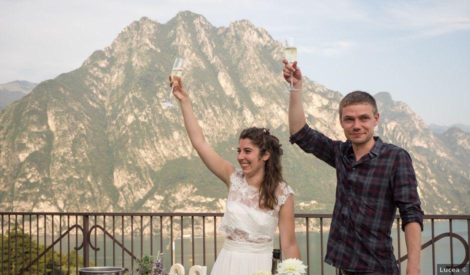 Il matrimonio di Sam e Giulia a Riva di Solto, Bergamo