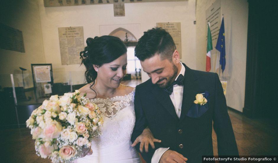 Il matrimonio di Francesco e Francesca a Ferrara, Ferrara